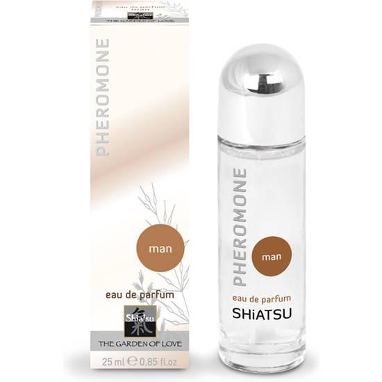 SHIATSU PERFUME DE FEROMONAS PARA HOMBRE, 25 ML - Afrodisiácos Perfumes - Sex Shop ARTICULOS EROTICOS