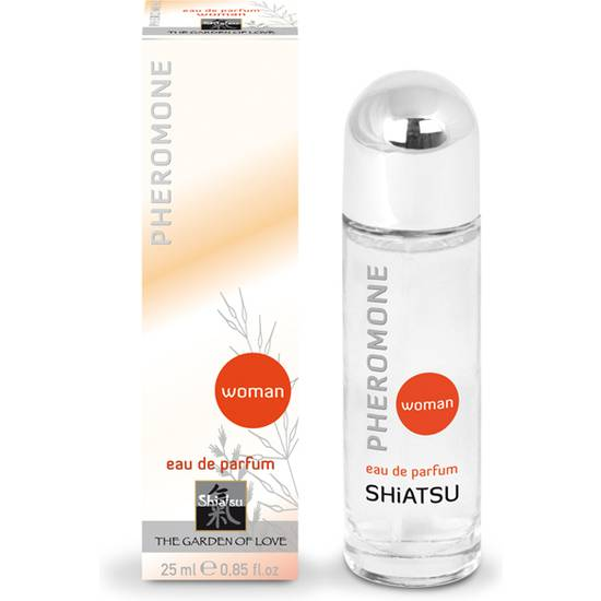 SHIATSU PERFUME FEROMONAS PARA MUJER 25 ML - Afrodisiácos Perfumes - Sex Shop ARTICULOS EROTICOS