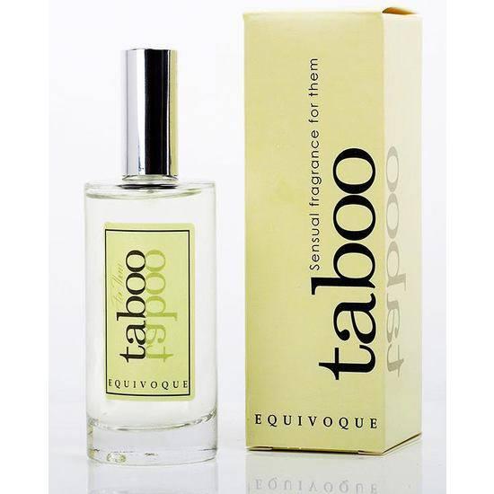 TABOO EQUIVOQUE PERFUME CON FEROMONAS PARA ÉL Y ELLA - Afrodisiácos Perfumes - Sex Shop ARTICULOS EROTICOS