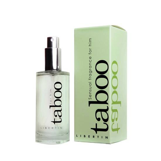 TABOO LIBERTIN PERFUME CON FEROMONAS PARA EL - Afrodisiácos Perfumes - Sex Shop ARTICULOS EROTICOS