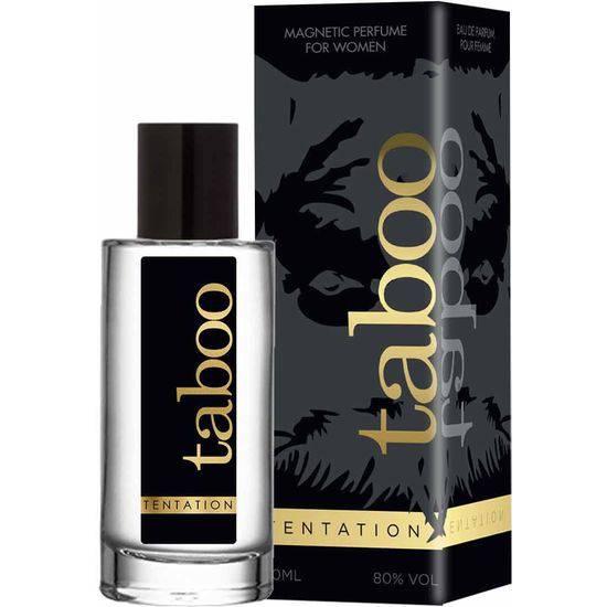 TABOO TENTATION  PERFUME CON FEROMONAS PARA ELLA 50ML - Afrodisiácos Perfumes - Sex Shop ARTICULOS EROTICOS