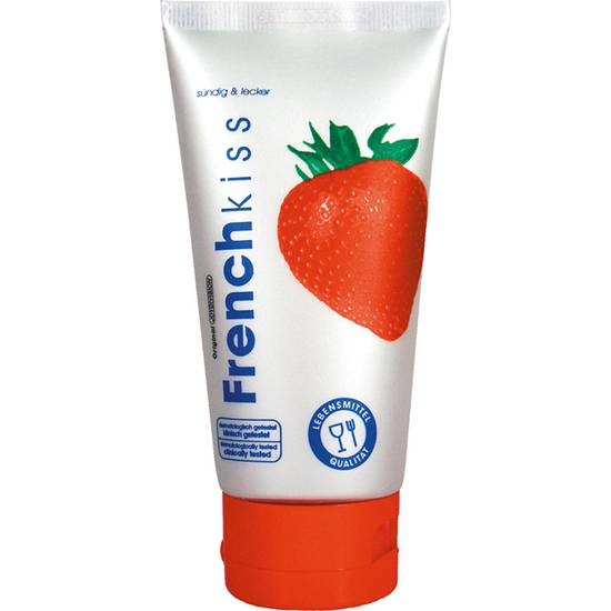FRENCH KISS GEL PARA SEXO ORAL FRESA - Afrodisiácos Sabor - Sex Shop ARTICULOS EROTICOS