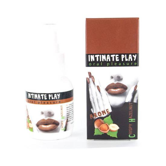 INTIMATE PLAY GEL PARA SEXO ORAL AVELLANA - Afrodisiácos Sabor - Sex Shop ARTICULOS EROTICOS