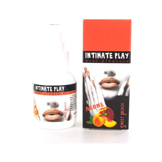 INTIMATE PLAY GEL PARA SEXO ORAL MELOCOTÓN | AFRODISIACOS SEXO ORAL | Sex Shop