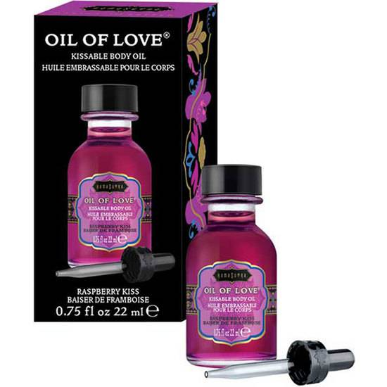 OIL OF LOVE  FRAMBUESA - 22ML - Afrodisiácos Lociones - Sex Shop ARTICULOS EROTICOS