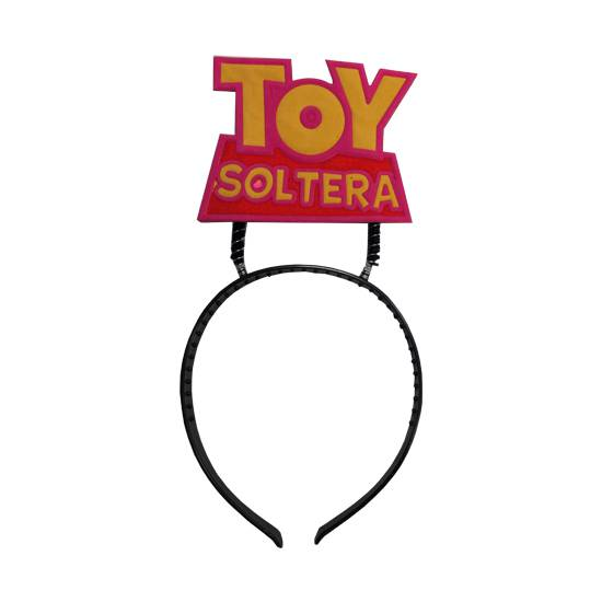 DIADEMA TOY SOLTERA | DIVERTIDOS ACCESORIOS | Sex Shop