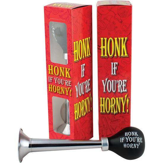 HORN HONK IF YOU ARE HORNY - BOCINA DIVERTIDA - Juegos en Grupo - Sex Shop ARTICULOS EROTICOS