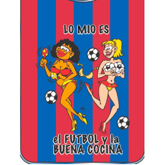 BABERO BLAUGRANA | DIVERTIDOS BABEROS | Sex Shop