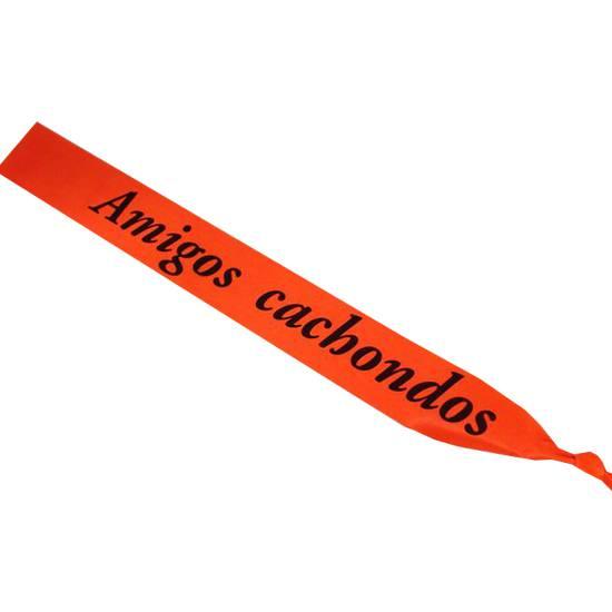 BANDA NARANJA AMIGOS CACHONDOS - Juegos Eróticos Accesorios Disfraces Banda-Sex Shop ARTICULOS EROTICOS