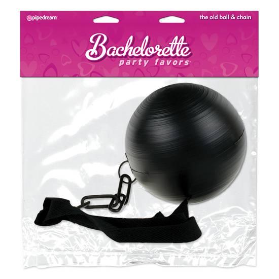 BACHELORETTE LA VIEJA BOLA CON CADENA - Decoración Eróticas - Sex Shop ARTICULOS EROTICOS