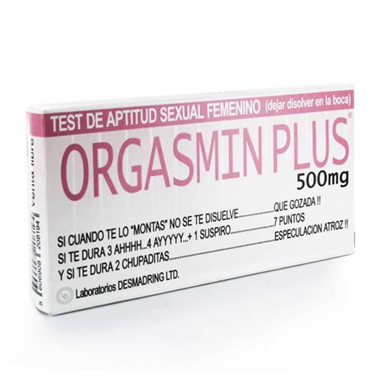 ORGASMIN PLUS CAJA DE CARAMELOS | DIVERTIDOS COMESTIBLES | Sex Shop
