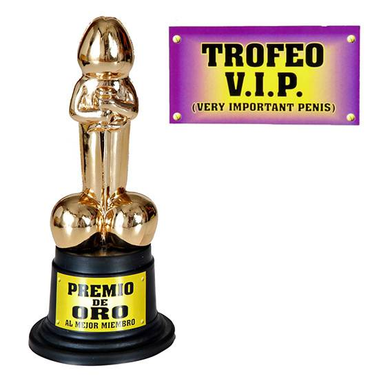 TROFEO V.I.P. VERY IMPORTANT PENIS | DIVERTIDOS TROFEOS | Sex Shop