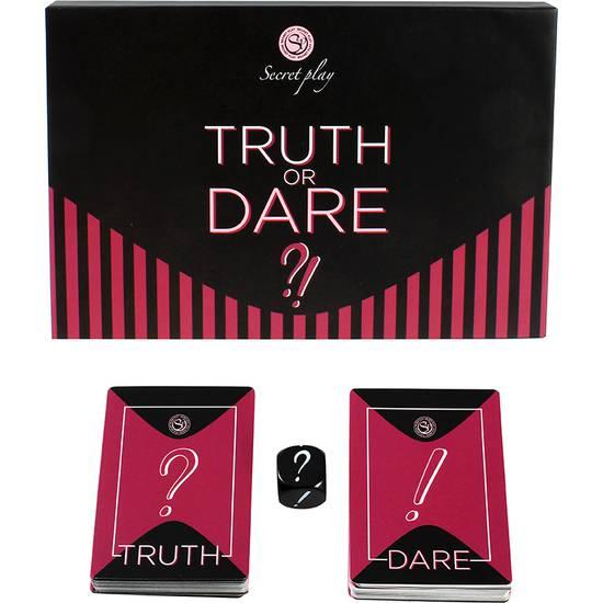 JUEGO TRUTH OR DARE (ES/EN) - Juegos en Grupo - Sex Shop ARTICULOS EROTICOS