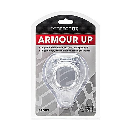 ARMOUR UP - TRANSPARENTE - Juguetes Sexuales Pene Varios - Sex Shop ARTICULOS EROTICOS