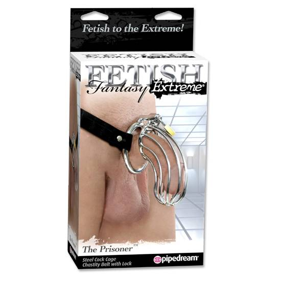 FETISH FANTASY EXTREME CINTURON DE CASTIDAD THE PRISONER - Castidad BDSM Bondage - Sex Shop ARTICULOS EROTICOS