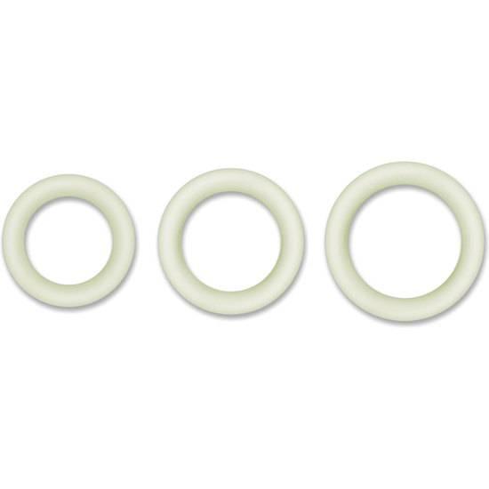 HALO 50MM KIT DE ANILLOS - BLANCO - Juguetes Sexuales Anillo Kit - Sex Shop ARTICULOS EROTICOS