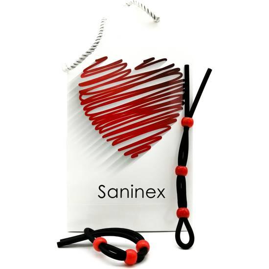 SANINEX CONCENTRATION - ANILLO ELÁSTICO DE CAUCHO - Juguetes Sexuales Anillo - Sex Shop ARTICULOS EROTICOS