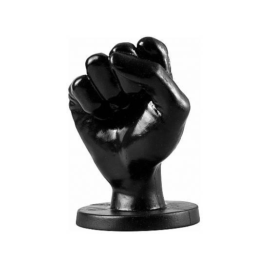 ALL BLACK FIST 14CM - NEGRO - Juguetes Sexuales Anales Anal - Sex Shop ARTICULOS EROTICOS