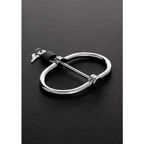 D-HANDCUFFS ACERO INOX - Esposas BDSM Bondage - Sex Shop ARTICULOS EROTICOS