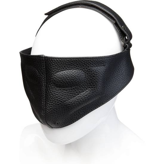 LEATHER BLINDING MASK - NEGRO - BDSM Bondage Varios- Sex Shop ARTICULOS EROTICOS