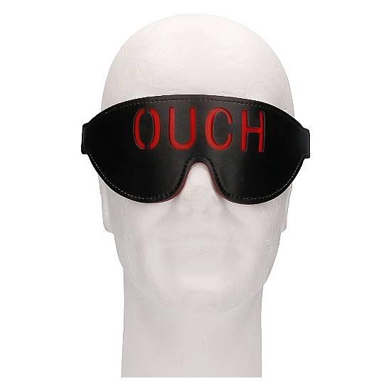 OUCH! MÁSCARA - OUCH - NEGRO - Máscaras BDSM Bondage - Sex Shop ARTICULOS EROTICOS