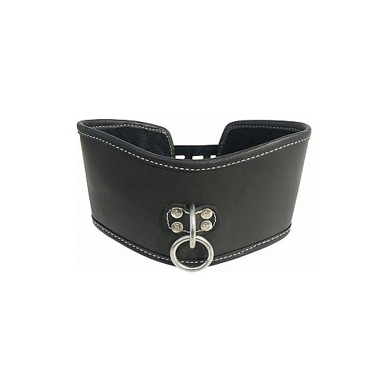 SOFT LEATHER POSTURE COLLAR - BDSM Bondage Collares - Sex Shop ARTICULOS EROTICOS