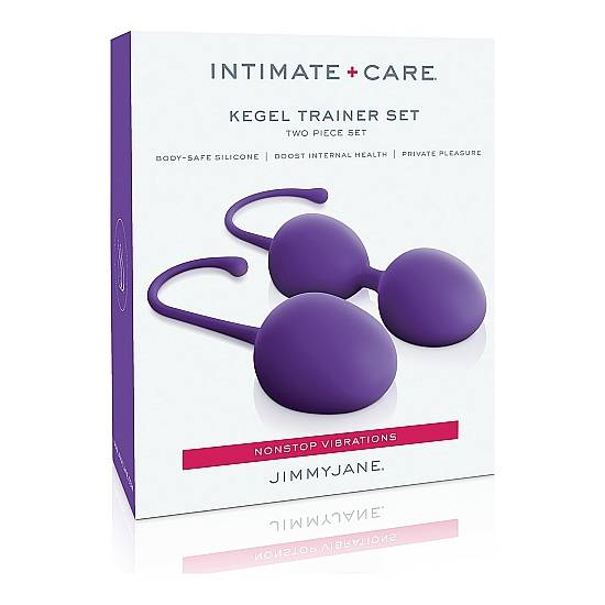 INTIMATE CARE SET DE ENTREMANIENTO KEGEL - MORADO - Juguetes Sexuales Bolas Chinas - Sex Shop ARTICULOS EROTICOS