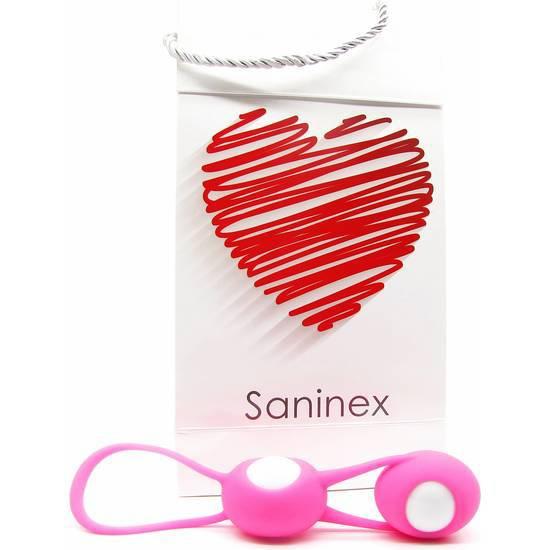 SANINEX ESFERAS OVALES MULTI ORGASMIC WOMAN - Juguetes Sexuales Bolas y Huevos - Sex Shop ARTICULOS EROTICOS