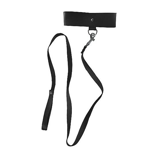 COLLAR ATADURAS NEGRO - BDSM Bondage Collares - Sex Shop ARTICULOS EROTICOS