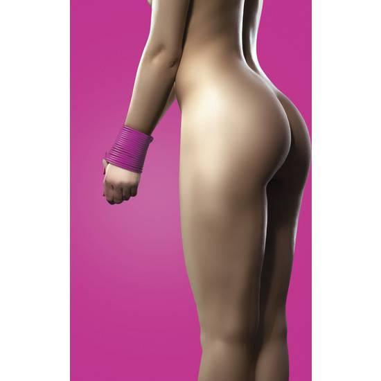 CUERDA SILICONA ROSA 5 METROS - Cuerdas BDSM Bondage - Sex Shop ARTICULOS EROTICOS