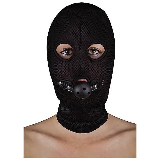 EXTREME MASCARA BACACLAVE CON MORDAZA PARA LA BOCA - Máscaras BDSM Bondage - Sex Shop ARTICULOS EROTICOS