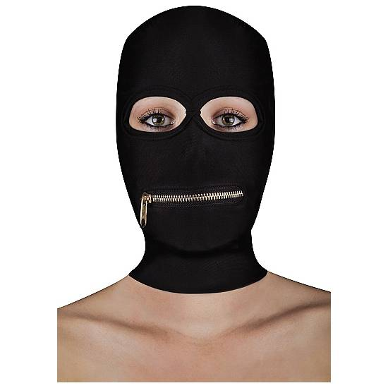 EXTREME MÁSCARA CON CREMALLERA EN LA BOCA - Máscaras BDSM Bondage - Sex Shop ARTICULOS EROTICOS