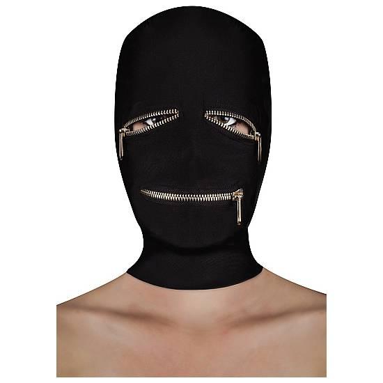 EXTREME ZIPPER MÁSCARA CON CREMALLERA OJOS Y BOCA - Máscaras BDSM Bondage - Sex Shop ARTICULOS EROTICOS