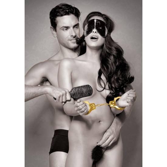 FANTASY KIT GOLD PRINCIPIANTES - BDSM Bondage Kit - Sex Shop ARTICULOS EROTICOS