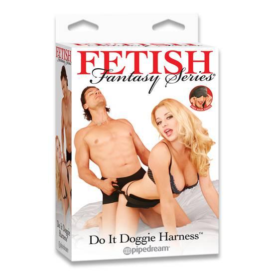 FETISH FANTASY ARNES PARA HACERLO ESTILO PERRITO - Arnes BDSM Bondage - Sex Shop ARTICULOS EROTICOS