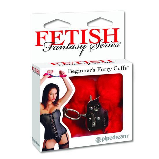 FETISH FANTASY ESPOSAS ROJAS - Esposas BDSM Bondage - Sex Shop ARTICULOS EROTICOS