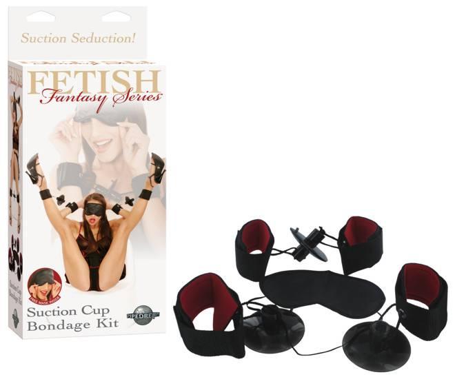 FETISH FANTASY KIT DE BONDAGE CON VENTOSAS - BDSM Bondage Kit - Sex Shop ARTICULOS EROTICOS
