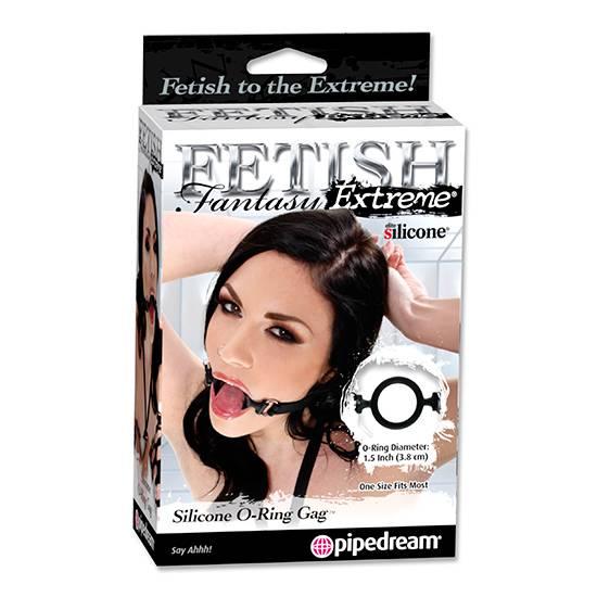 FETISH FANTASY MORDAZA ANILLA DE SILICONA - Mordazas BDSM Bondage - Sex Shop ARTICULOS EROTICOS