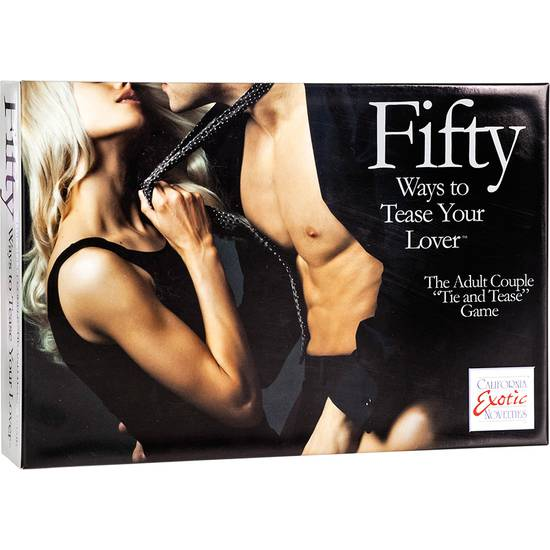 FIFTY WAYS TO TEASE YOUR LOVE - KIT PARA PAREJAS - BDSM Bondage Kit - Sex Shop ARTICULOS EROTICOS