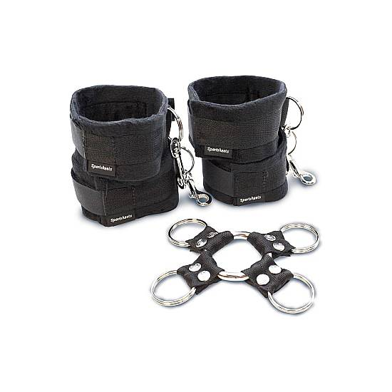 KIT DE ESPOSAS BONDAGE - Esposas BDSM Bondage - Sex Shop ARTICULOS EROTICOS