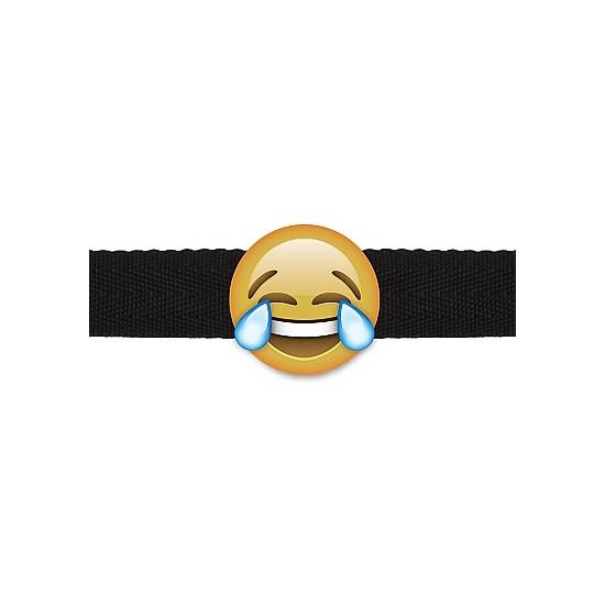 LAUGHING OUT LOUD EMOJI - MORDAZA - Accesorios Disfraces Eróticos Varios - Sex Shop ARTICULOS EROTICOS