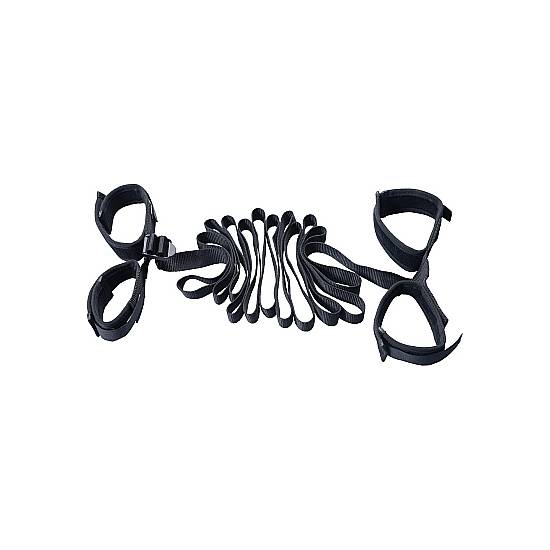 SET RESTRICCIONES BONDAGE - BDSM Bondage Kit - Sex Shop ARTICULOS EROTICOS