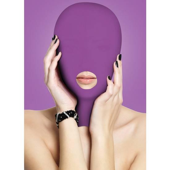 SUBMISSION MASCARA MORADO - Máscaras BDSM Bondage - Sex Shop ARTICULOS EROTICOS