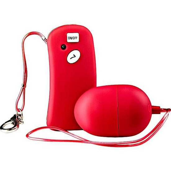 TABOOM THE REMOTE CONTROLLED ONE HUEVO VIBRADOR ROJO - Huevos - SEXSHOP