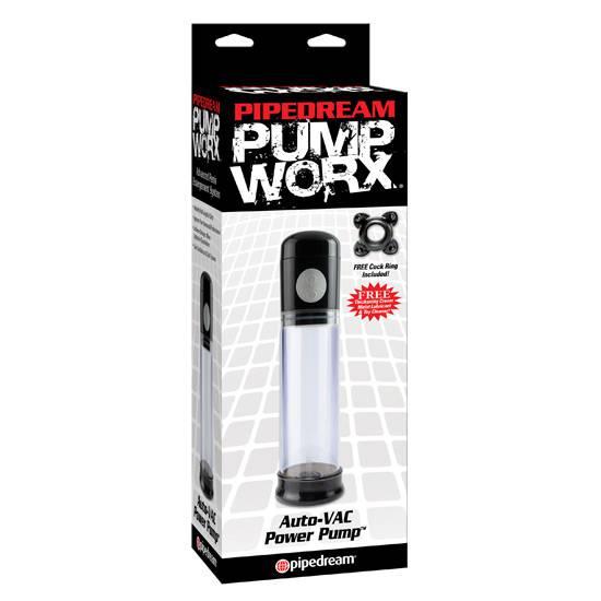 PUMP WORX BOMBA DE ERECCION AUTOMATICA | JUGUETES XXX DESARROLLADORES | Sex Shop
