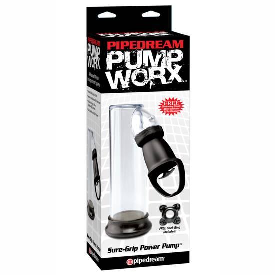 PUMP WORX BOMBA DE ERECCION SUPER PRIETA | JUGUETES XXX DESARROLLADORES | Sex Shop