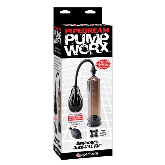 PUMP WORX BOMBA DE SUCCION AUTOMATICA PARA PRINCIPIANTES | JUGUETES XXX DESARROLLADORES | Sex Shop