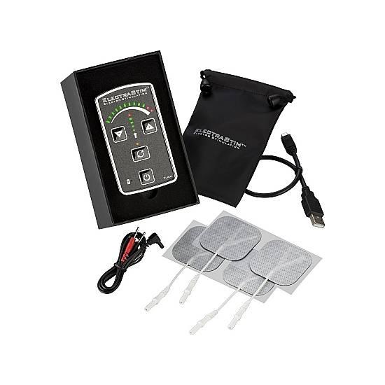 ELECTRASTIM PACK ESTIMULADOR FLICK EM60-E - Juguetes Sexuales Electroestimulación - Sex Shop ARTICULOS EROTICOS