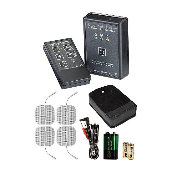 REMOTE CONTROLLED STIMULATOR KIT | JUGUETES XXX ELECTROESTIMULACION | Sex Shop
