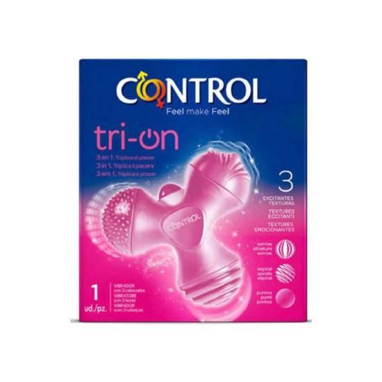 CONTROL TOYS ESTIMULADOR TRI-ON - Juguetes Sexuales Estimuladores Varios - Sex Shop ARTICULOS EROTICOS